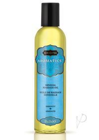 Aromatic Massage Oil Serenity 8 Oz