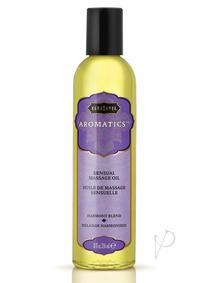 Aromatic Massage Oil Harmony Blend 8oz