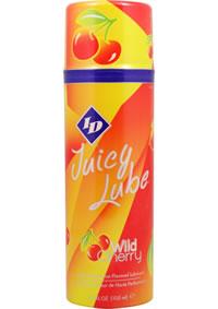 Id Juicy Lube Wild Cherry 3.5 Oz