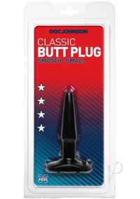 Butt Plug Black Small