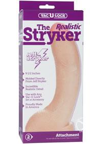 Vac U Lock Stryker Realistic Cock