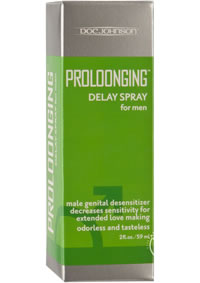 Proloonging Delay Spray For Men 2oz