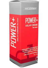 Power Delay Creme For Men 2oz