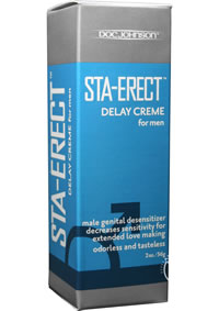 Staerect Delay Creme For Men 2oz
