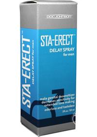Staerect Delay Spray For Men 2oz