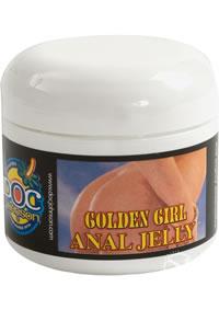 Golden Girl Anal Jelly 2oz