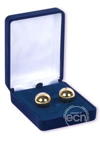 Ben Wa Gold Balls Velvet Box