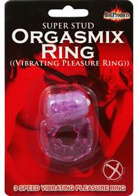 Stud Orgasmix Ring Purple