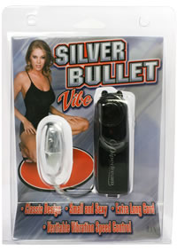 Vibrating Silver Egg Carded