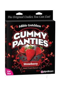 Edible Crotch Gummy Panties Straw