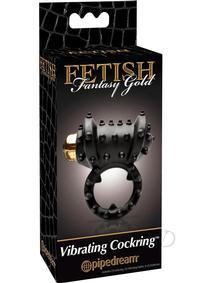 Ff Gold Vibrating Cock Ring