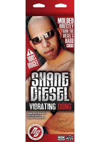 Shane Diesel Vibrating Dildo