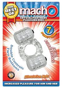Tbom Crystal Partners Pleasure Ring Clr