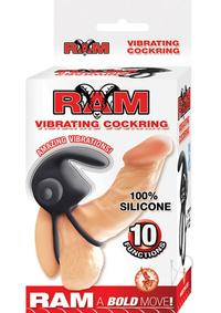 Ram Vibrating Cockring Black