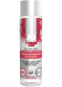All In One Massage Glide Warming 4oz