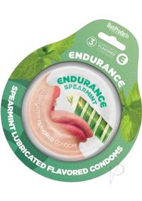 Endurance Condom Spearmint 3`s