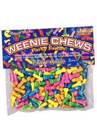 Weenie Chews 125/bag