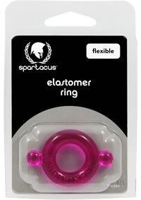 Purple Elastomer C Ring