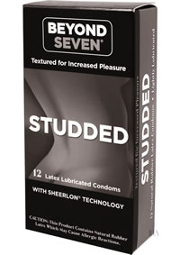 Beyond Seven Studded Condom 12`s