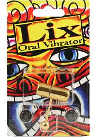 Lix Tongue Oral Vibrator Gold