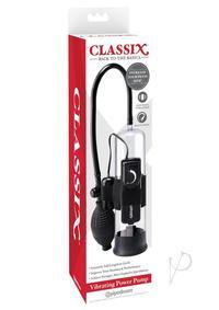 Classix Vibrating Power Pump Black
