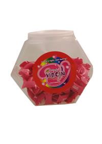 Liquid Virgin Pillow Packs 144/display