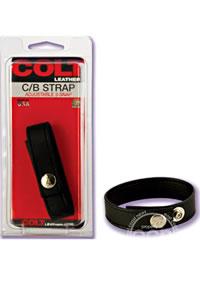 Colt Leather Adjustable 3 Snap(disc)