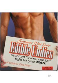 Edible Undies Male Vanilla