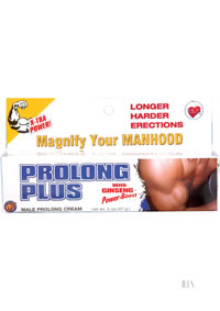 Prolong Plus Erection Creme