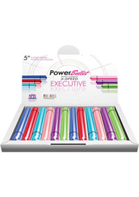 Powerbullet Excutive Asst Color 12/disp