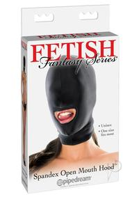 Ff Spandex Open Mouth Hood