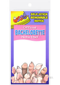 Official Bachelorette Note Pad