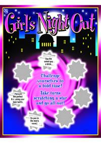 Girls Night Out Scratcher(disc)