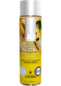 Jo H2o Flavor Lube Banana Lick 4oz