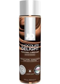 Jo 4oz H2o Flavored Lube Chocolate