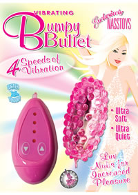 Vibrating Bumpy Bullet Pink