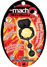 Macho Stallions Ultra Erctn Keeper Blk