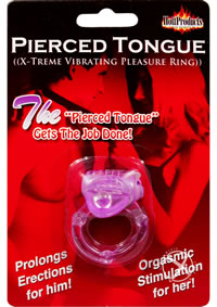 Pierced Tongue Purple