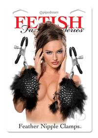 Ff Feather Nipple Clamps Black