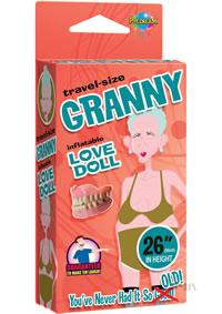 Travel Size Granny Love Doll