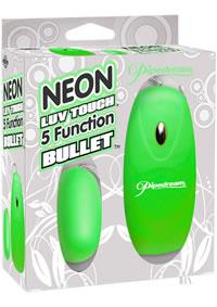 Neon Luv 5 Func Bullet Green