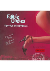 Edible Undies Female Chocolate