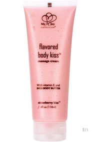 Flavored Body Kiss - Strawberry
