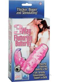 3 Way Fluttering Butterfly