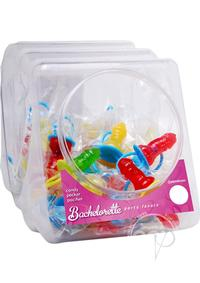Bp Candy Pecker Pacifier 48/disp