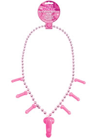 Pecker Whistle Necklace Pink