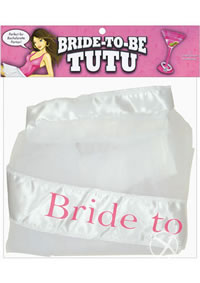 Bride To Be Tutu White (disc)