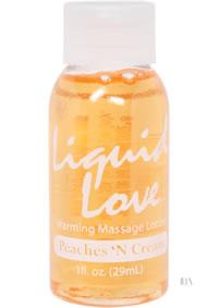 Liquid Love 1oz Peaches N Cream