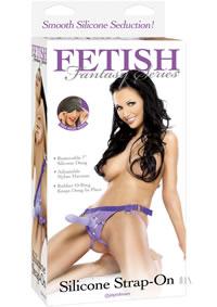 Ff Silicone Strap On Purple