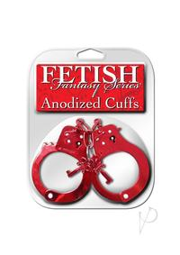 Ff Anodized Cuffs Red
